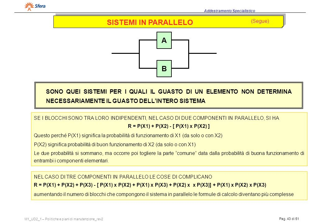 R = P(X1) + P(X2) - [ P(X1) x P(X2) ]